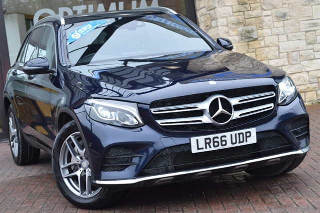 used Mercedes GLC250 D 4MATIC AMG LINE PREMIUM PLUS in york-yorkshire