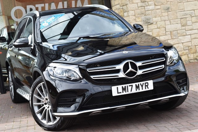 used Mercedes GLC250 D 4MATIC AMG LINE PREMIUM in york-yorkshire