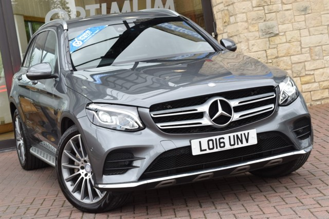 used Mercedes GLC250 D 4MATIC AMG LINE in york-yorkshire