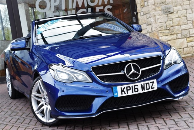 used Mercedes E350 D AMG LINE EDITION in york-yorkshire
