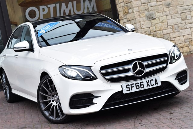 used Mercedes E350 D AMG LINE PREMIUM in york-yorkshire