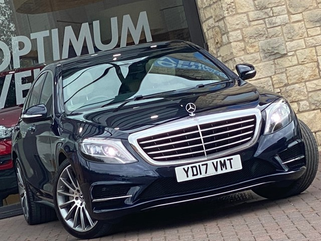 used Mercedes S350 D AMG LINE PREMIUM in york-yorkshire