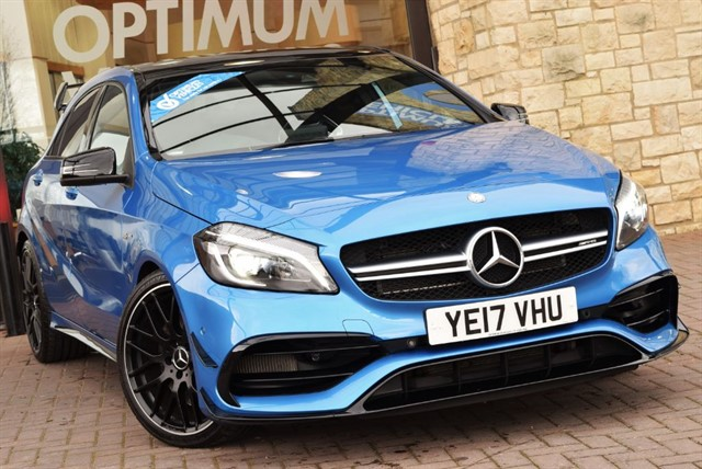 used Mercedes A45 AMG 4MATIC AERO PACKAGE in york-yorkshire