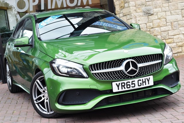 used Mercedes A180d A 180 D AMG LINE PREMIUM in york-yorkshire