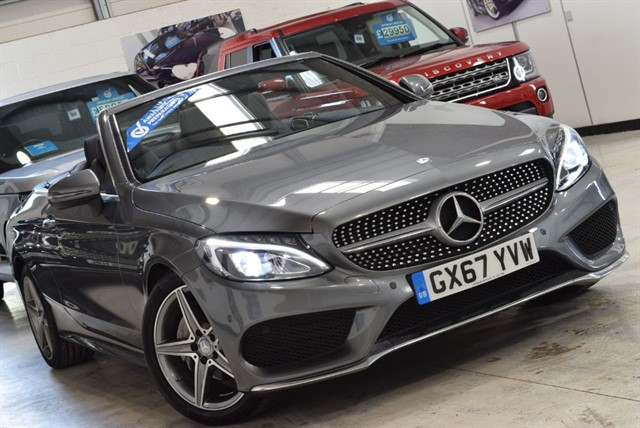 used Mercedes C220 C-CLASS C 220 D AMG LINE in york-yorkshire