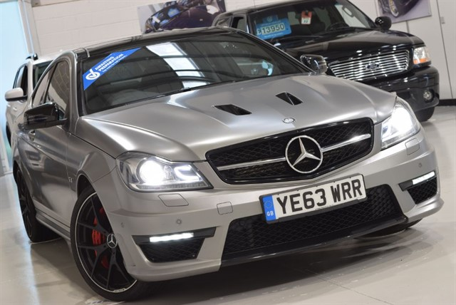 used Mercedes C63 AMG 507 EDITION in yorkshire