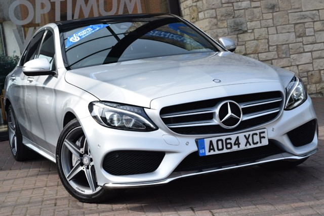 used Mercedes C300 BT HYBRID AMG LINE PREMIUM PLUS in york-yorkshire