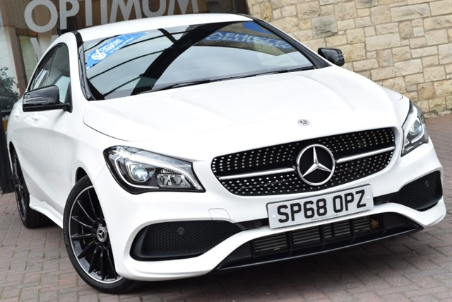 used Mercedes CLA 220 D AMG LINE NIGHT EDITION in york-yorkshire