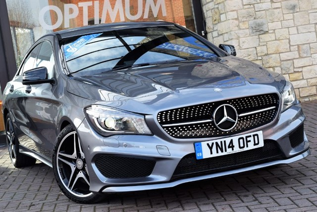 used Mercedes CLA 220 CDI AMG SPORT AUTO in york-yorkshire