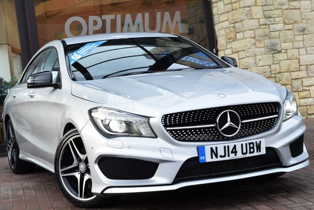 used Mercedes CLA250 CLA250 AMG SPORT 4MATIC in york-yorkshire