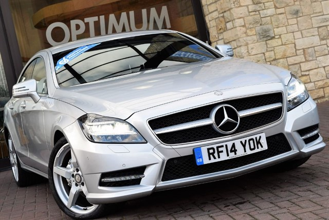 used Mercedes CLS CLS350 CDI BLUEEFFICIENCY AMG SPORT in york-yorkshire