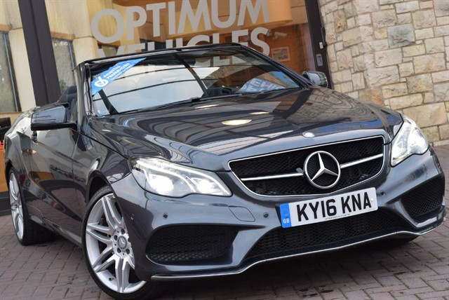 used Mercedes E220 E-CLASS D AMG LINE EDITION in york-yorkshire