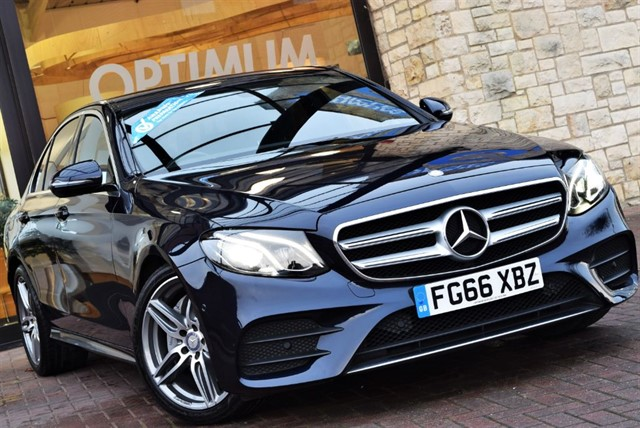 used Mercedes E220 E-CLASS E 220 D AMG LINE in york-yorkshire