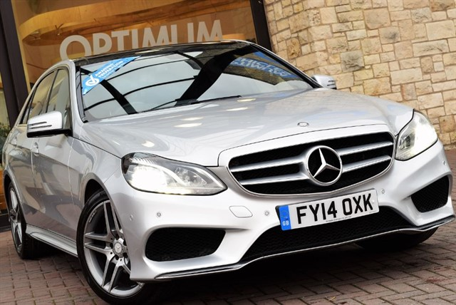 used Mercedes E250 CDI AMG SPORT in york-yorkshire