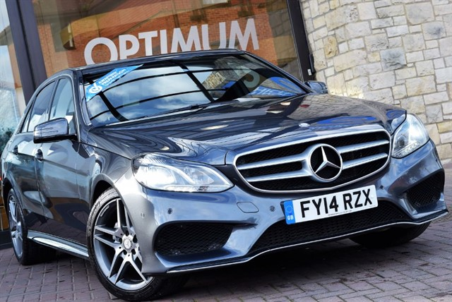 used Mercedes E300 BLUETEC HYBRID AMG SPORT in york-yorkshire