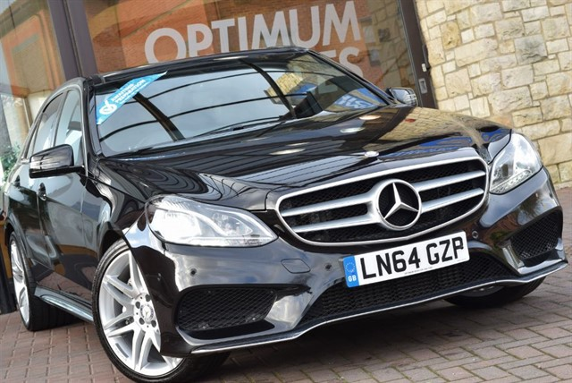 used Mercedes E350 BLUETEC AMG SPORT in york-yorkshire
