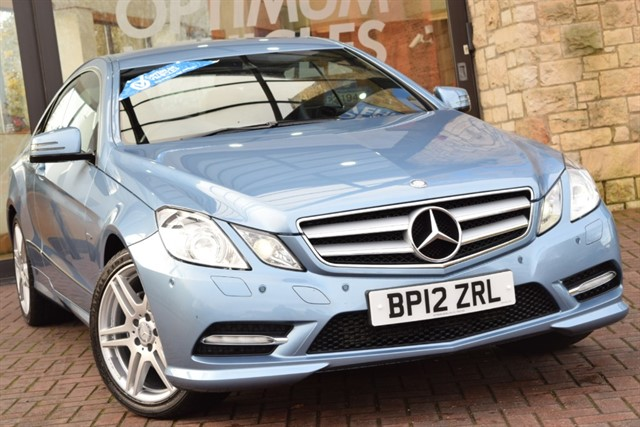 used Mercedes E200 CGI BLUEEFFICIENCY S/S SPORT in york-yorkshire