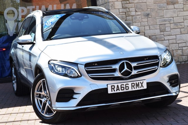 used Mercedes GLC220 D 4MATIC AMG LINE PREMIUM in york-yorkshire