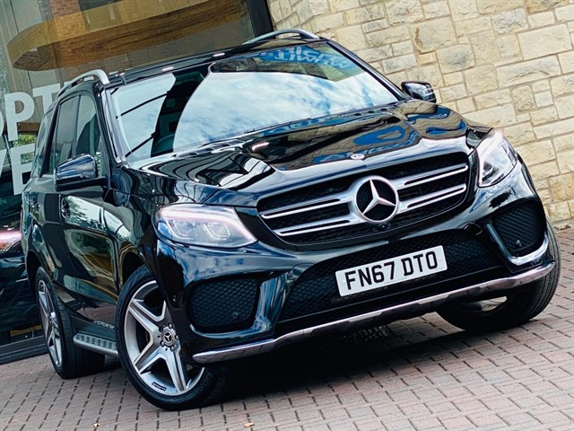 used Mercedes GLE250 D 4MATIC AMG LINE PREMIUM in york-yorkshire