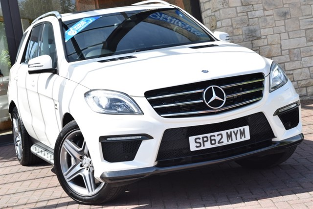 used Mercedes ML63 AMG  in york-yorkshire