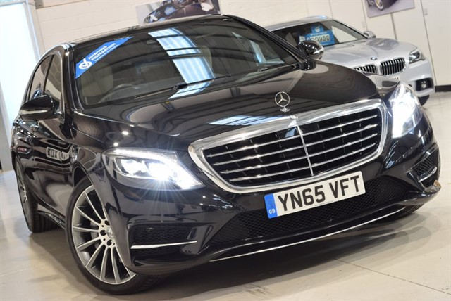 used Mercedes S350L S-CLASS 350DL AMG LINE in yorkshire