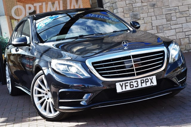 used Mercedes S350 BLUETEC AMG LINE EXECUTIVE in york-yorkshire