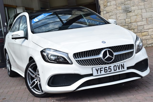 used Mercedes A180d AMG LINE PREMIUM PLUS in york-yorkshire
