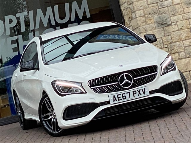 used Mercedes CLA180 180 AMG LINE in york-yorkshire