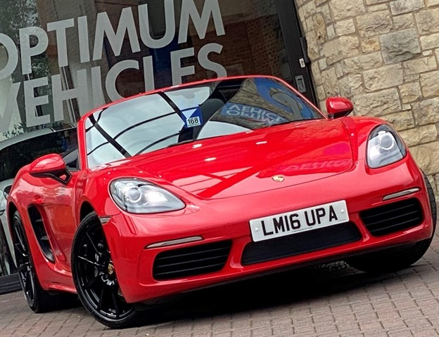 used Porsche 718 Boxster BOXSTER PDK in york-yorkshire