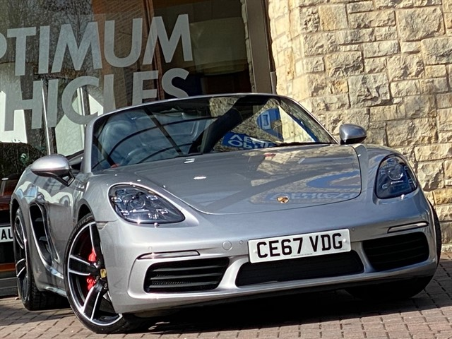 used Porsche 718 Boxster S PDK in york-yorkshire