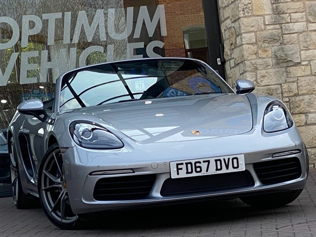 used Porsche 718 Boxster 2.0T PDK in york-yorkshire