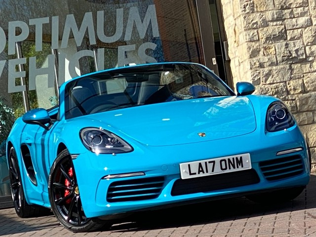 used Porsche 718 Boxster BOXSTER S PDK in york-yorkshire