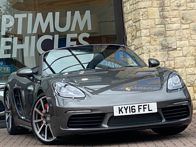 used Porsche 718 Boxster 2.5T S PDK in york-yorkshire