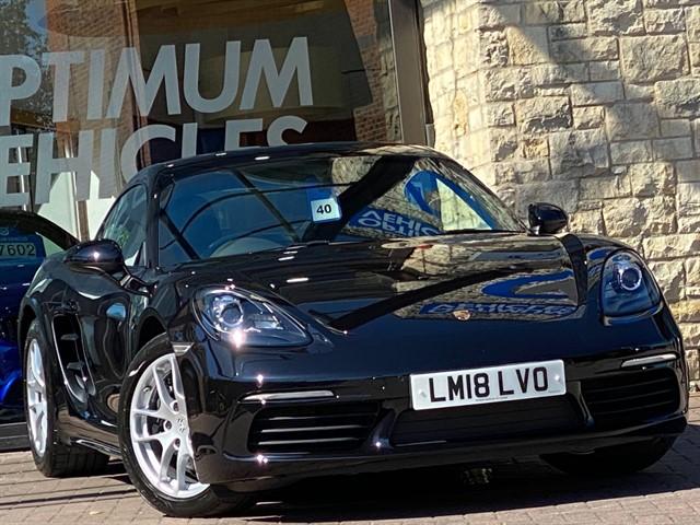used Porsche 718 Cayman CAYMAN PDK in york-yorkshire