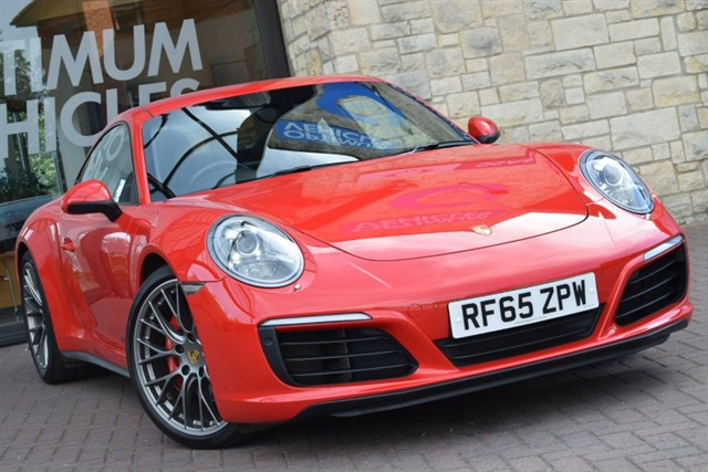 used Porsche 911 CARRERA 4S in york-yorkshire