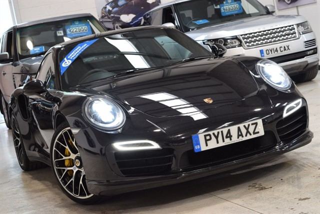 used Porsche 911 Turbo S PDK in yorkshire