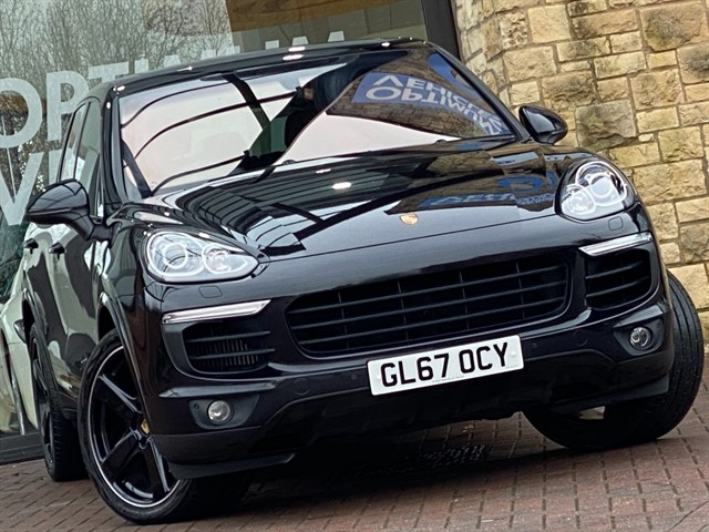 used Porsche Cayenne D V6 PLATINUM EDITION TIPTRONIC S in york-yorkshire