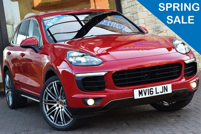 used Porsche Cayenne S E-HYBRID TIPTRONIC in york-yorkshire
