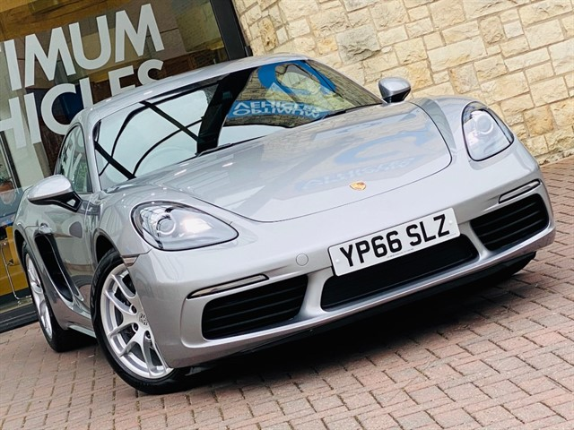 used Porsche 718 Cayman 2.0T Manual in york-yorkshire