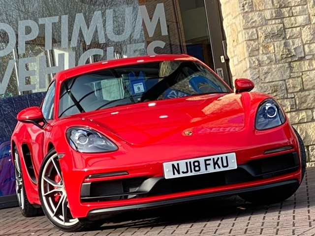 used Porsche Cayman CAYMAN GTS in york-yorkshire