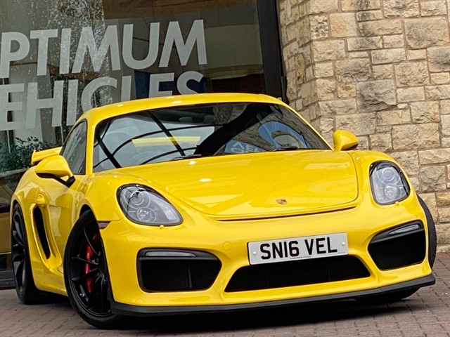 used Porsche Cayman GT4 in york-yorkshire