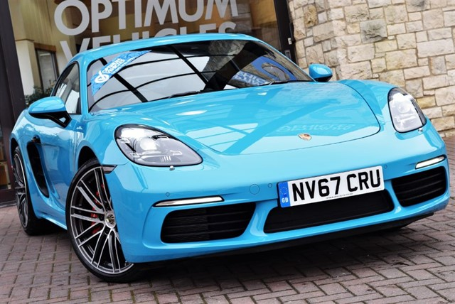 used Porsche Cayman 718 CAYMAN S PDK in york-yorkshire