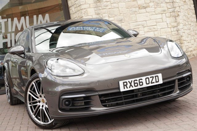 used Porsche Panamera D 4S PDK in york-yorkshire