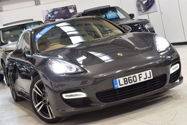used Porsche Panamera TURBO PDK in yorkshire