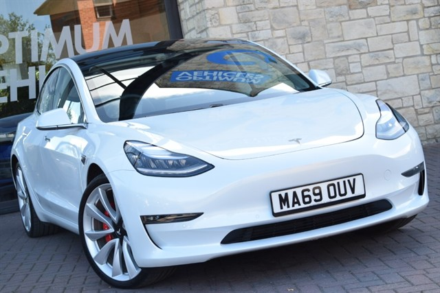 used Tesla Model 3 PERFORMANCE AWD in york-yorkshire