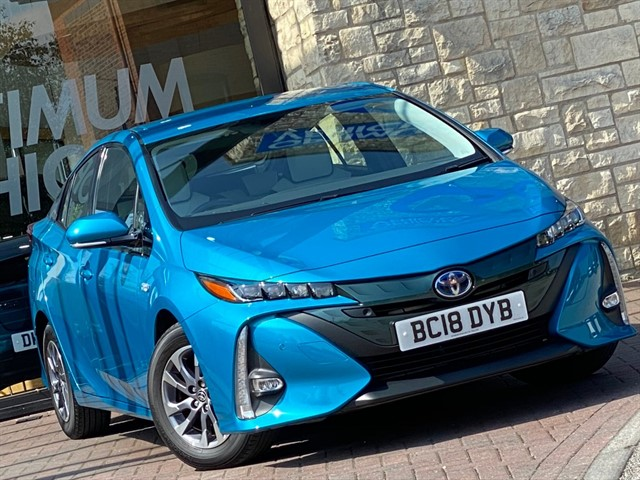 used Toyota Prius PHEV EXCEL in york-yorkshire