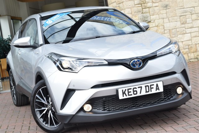 used Toyota C-HR EXCEL in york-yorkshire
