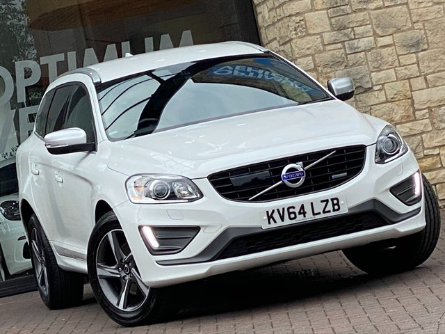 used Volvo XC60 T6 R-DESIGN LUX NAV AWD in york-yorkshire