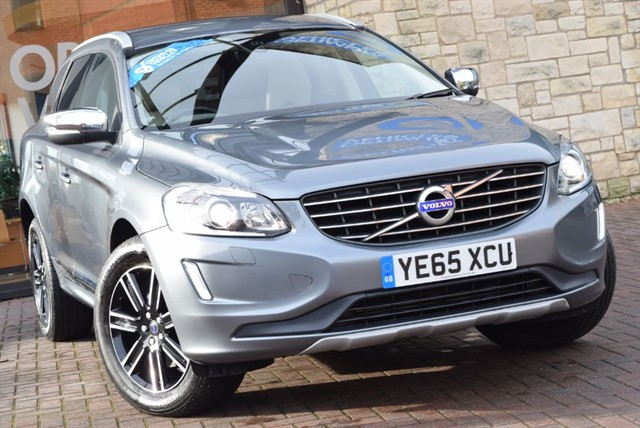 used Volvo XC60 D5 SE LUX NAV AWD in york-yorkshire