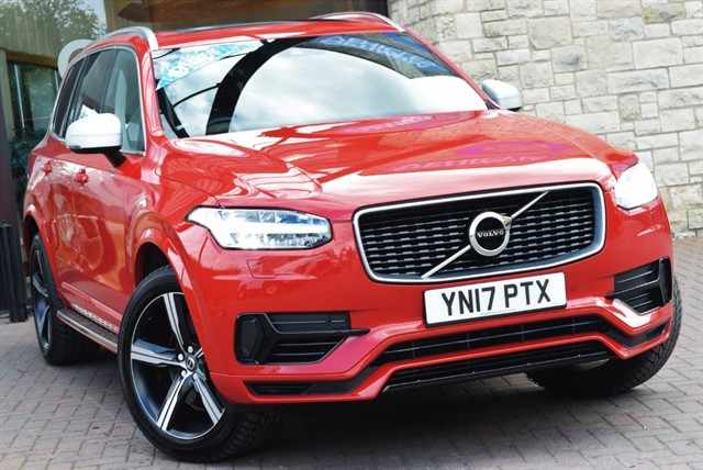 used Volvo XC90 T8 TWIN ENGINE R-DESIGN in york-yorkshire